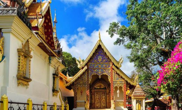 泰国清迈双龙寺